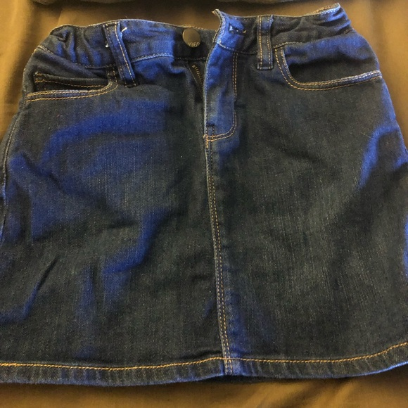 GAP Other - Girl's denim mini skirt